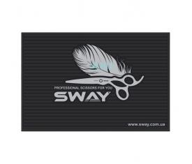 Килимок для перукарських інструментів гумовий SWAY 45 * 30 * 0,5 см